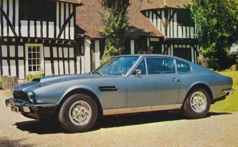 Youngtimer – Aston Martin V8 (1970-90)