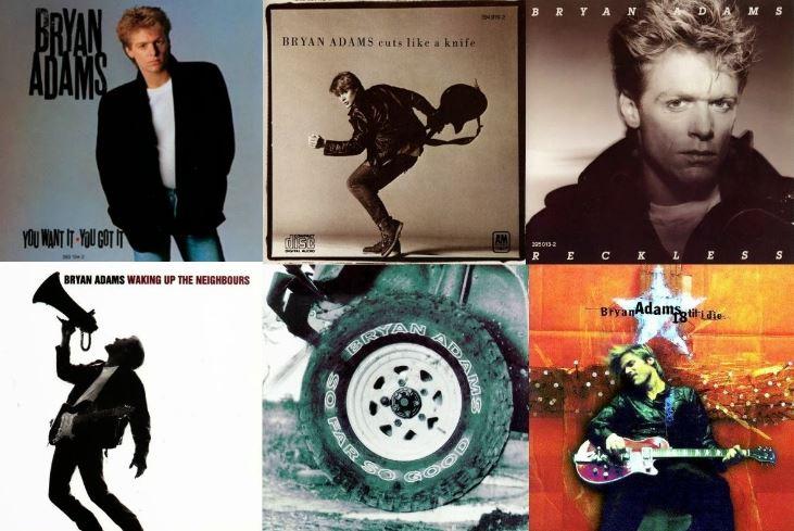Album – Bryan Adams – So Far So Good – Best of (1993)