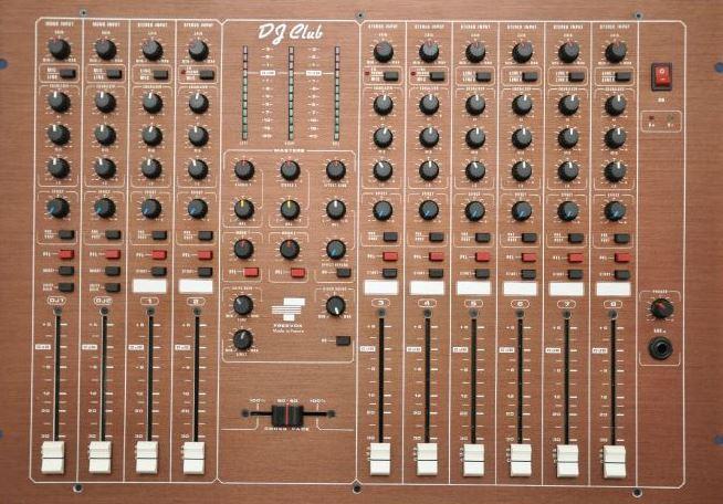Sono Vintage – Console discothèque Freevox DJ-Club (1993-2003)