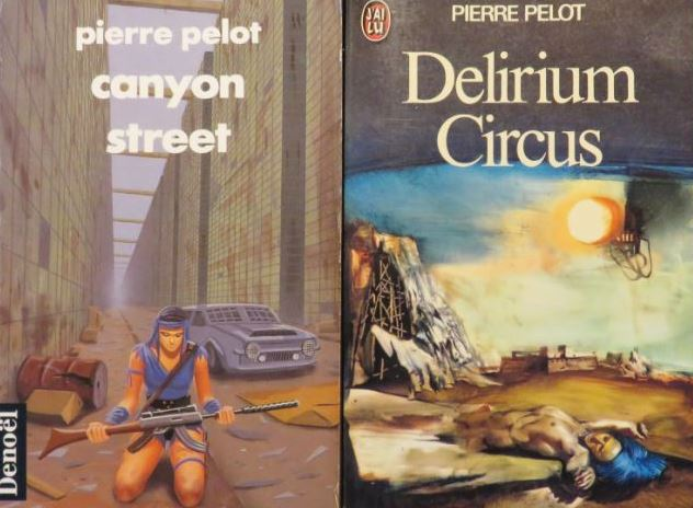 Livre SF – Pierre Pelot – Canyon Street (1978)