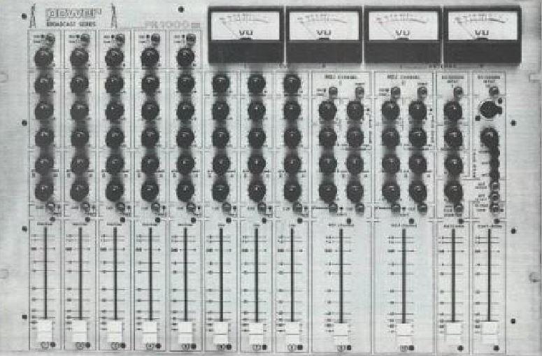 L'équipement des Radios Locales dans les années 80